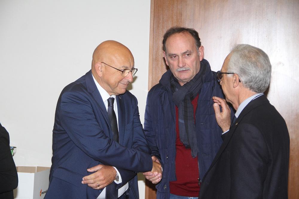 Da sx Francesco Mezzasalma - Giorgio Sardi e Raffaele Prisco