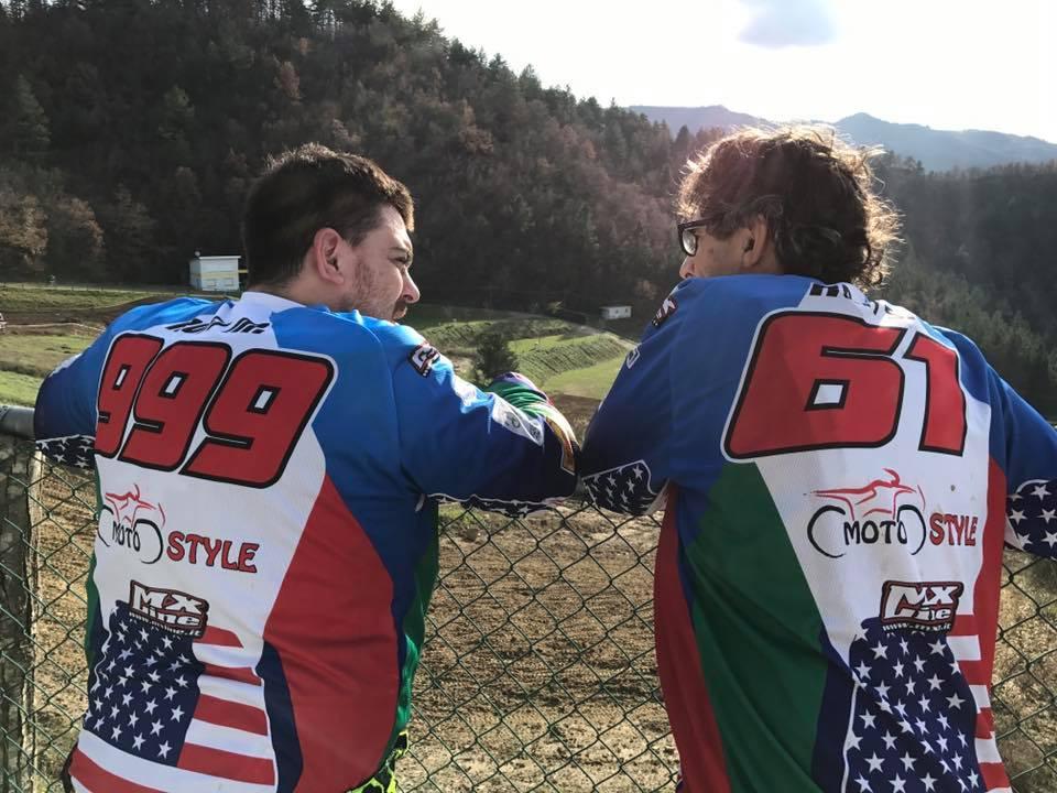 Maicol e Stefano Rofi in una foto d'archivio